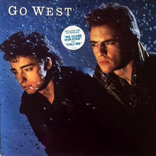 Go West - Go West (LP) (EX/EX-)